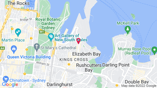 The Jensen Potts Point Map