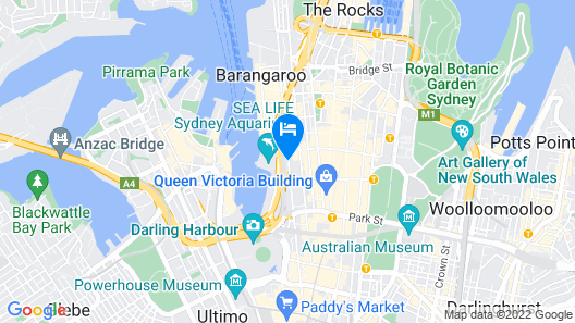 Hyatt Regency Sydney Map