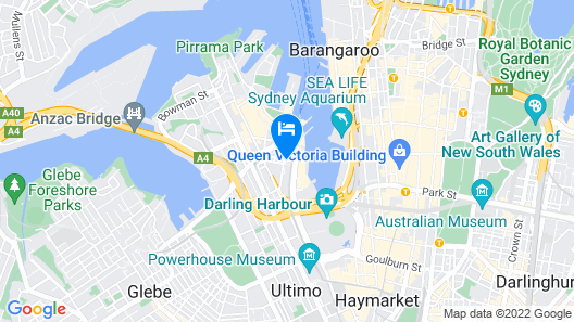 ibis Sydney Darling Harbour Map