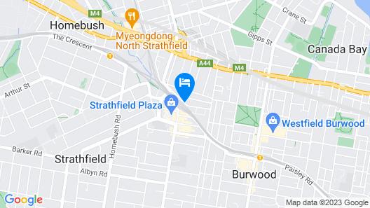 Strathfield Hotel Map