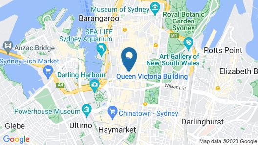 Hilton Sydney Map