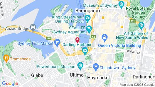 Sofitel Sydney Darling Harbour Map