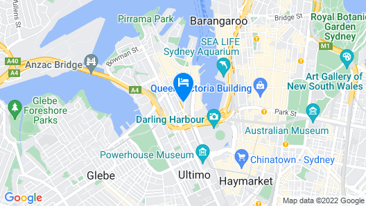 MetroResidences Darling Harbour Map