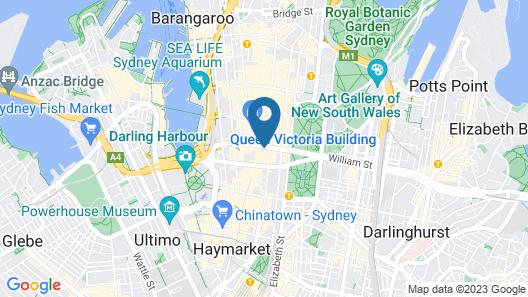 Hotel Coronation Map