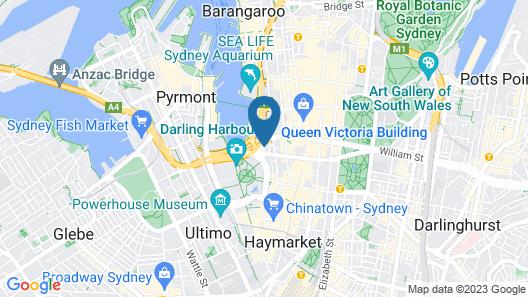 PARKROYAL Darling Harbour, Sydney Map