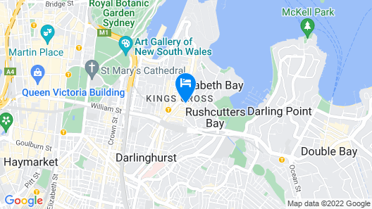 Uno Hotel Map