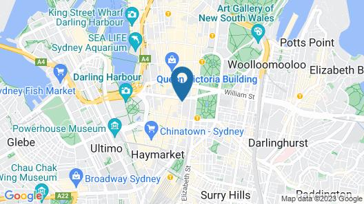 Kimpton Sydney, an IHG Hotel Map