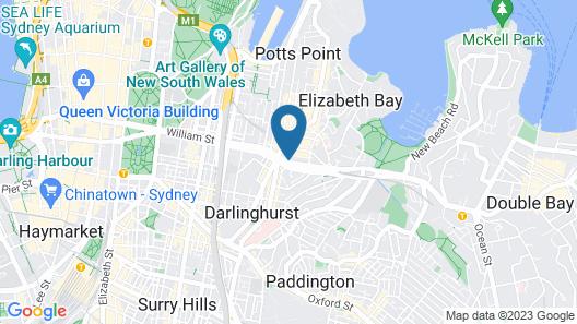 Larmont Sydney by Lancemore Map
