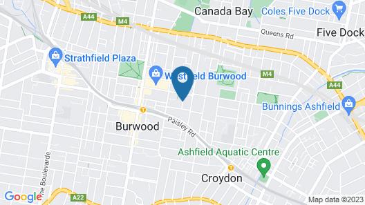 Boronia Lodge Burwood Map