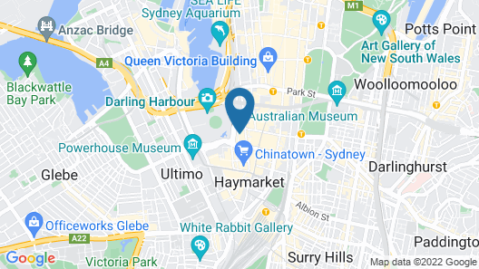 APX Darling Harbour Map