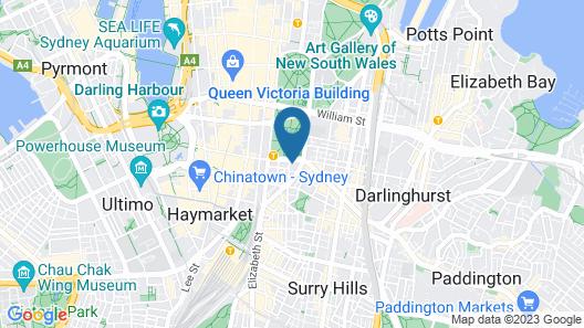Song Hotel Sydney Map