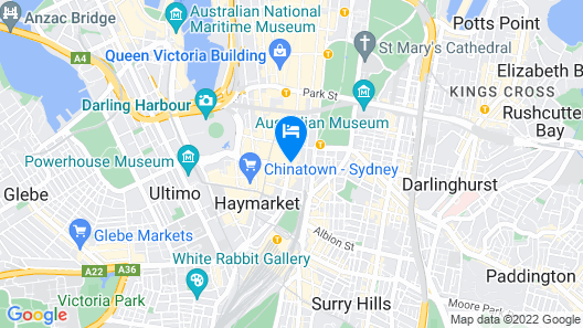 ibis Sydney World Square Map