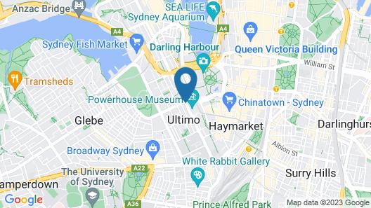 Glasgow Arms Hotel Map