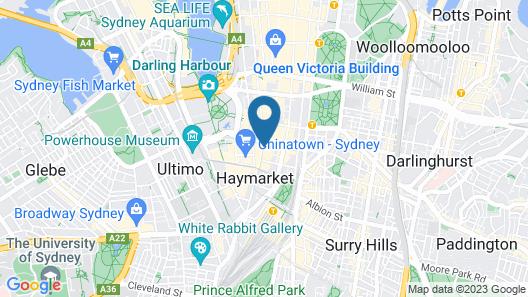 The George Street Hotel - Hostel Map