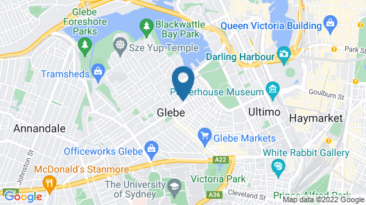Excelsior Serviced Apartments Map