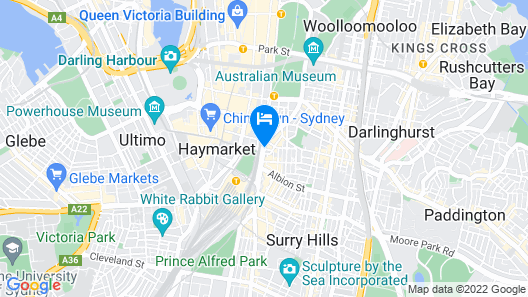 Big Hostel Map