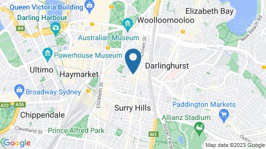 Abey Hotel Map