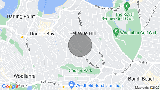 Bellevue Hill Villa by Onefinestay Map