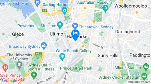 Apartment Hyde Park - George Map