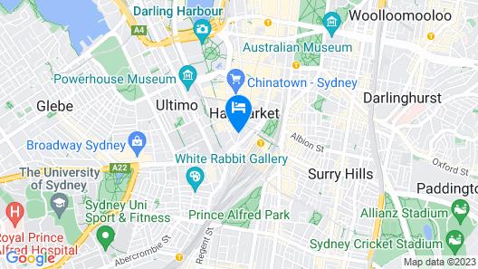 Valentine On George Map