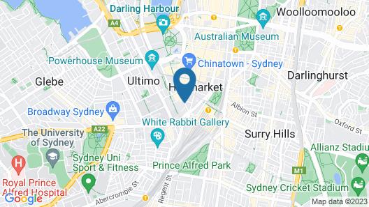 Liv Apartments Haymarket Map
