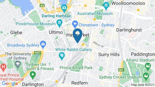 Wake Up! Sydney Map