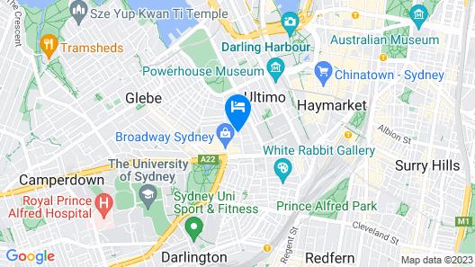 Veriu Broadway Map