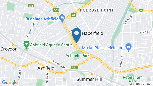Quality Inn Sunshine Haberfield Map