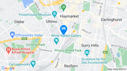 Mercure Sydney Map