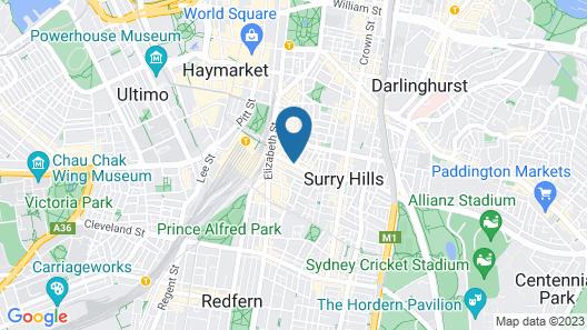57 Hotel Map
