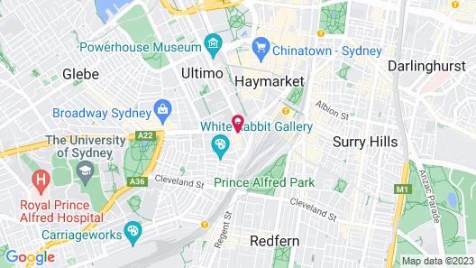 Posh Hotel Map