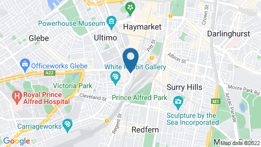 28 Hotel Map