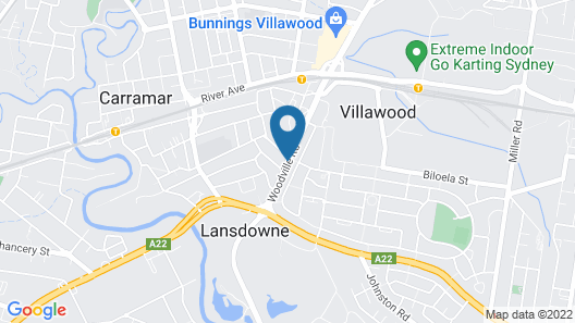 Villawood Hotel Map
