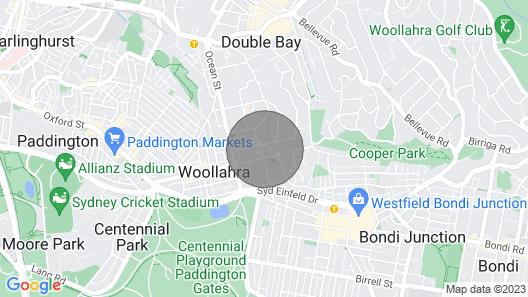 Woollahra Botanic - Gorgeous Art Deco 3-bedroom Apartment Near Centennial Park Map