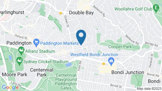 Woollahra Botanic Map