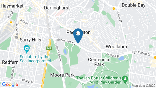 UKO Paddington Map