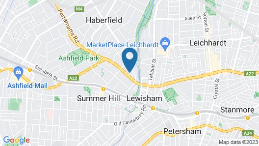 Garden Lodge Sydney Map