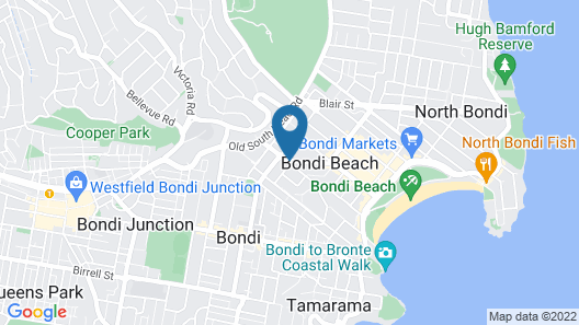 Ultimate Apartments Bondi Beach Map