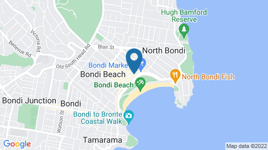 Luxe Pacific Bondi Beach H463 Map