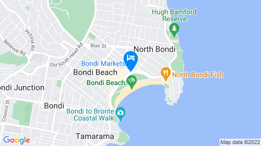 QT Bondi Map