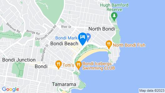 Hotel Bondi Map