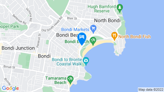 Wake Up! Bondi Beach Map