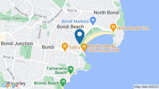 Bondi 38 Serviced Apartments Map