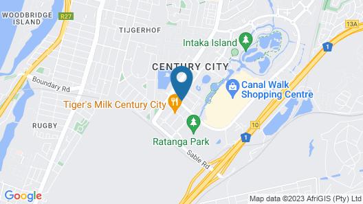 Colosseum Luxury Hotel Map