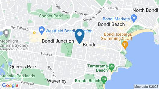 Bondi Beach Studios Map