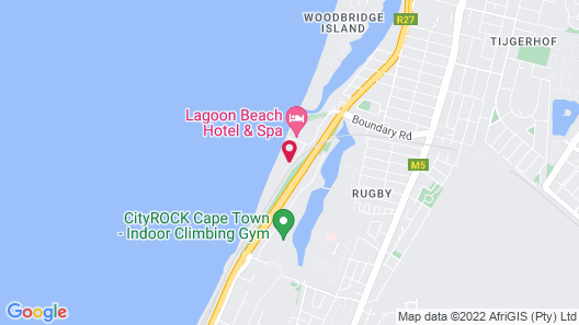 Cape Town Beachfront Apartments At Leisure Bay Map