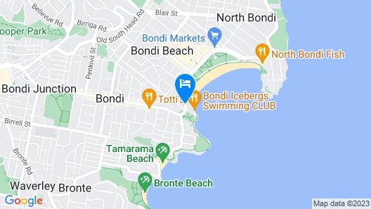 Noah's Bondi - Hostel Map