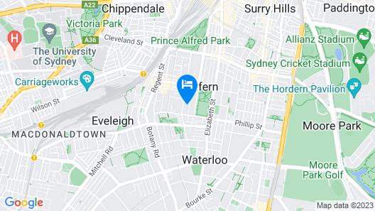 Douglas Street Studios Map