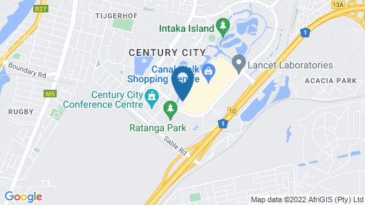 StayEasy Century City Map
