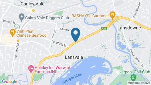 Ramada Hotel & Suites Sydney Cabramatta Map